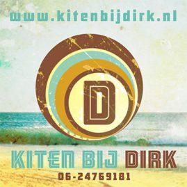 Kiten bij Dirk